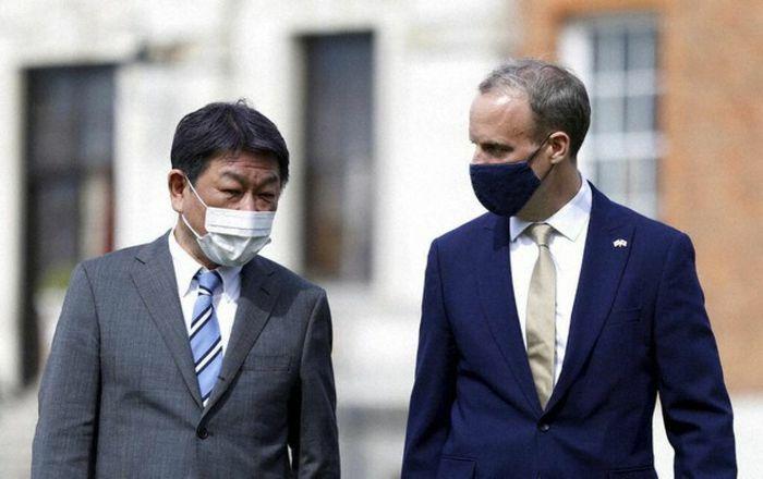 Anh và Nhật Bản nhất trí tăng cường hợp tác trong lĩnh vực thương mại và an ninh