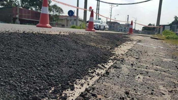 Đê vừa nâng cấp tốn 300 tỷ đã nứt: Huyện Đan Phượng báo cáo khẩn