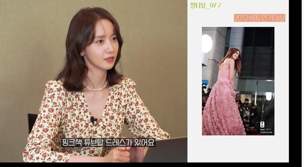 """Yoona liệt kê 5 bộ cánh thảm đỏ yêu thích nhất, ai dè toàn item lộ lưng, khoe ngực """"mlem"""" không chịu được!"""