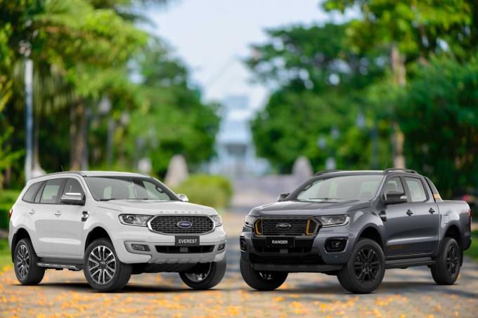 Ranger và Everest giúp Ford bay cao ở thị trường Việt Nam