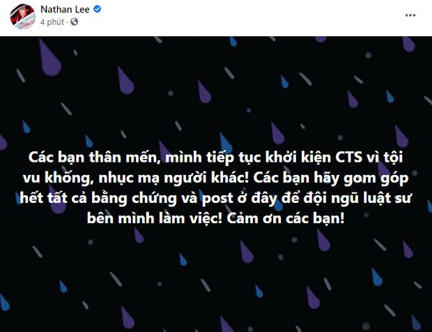 Động thái của Cao Thái Sơn ngay sau khi Nathan Lee tuyên bố khởi kiện