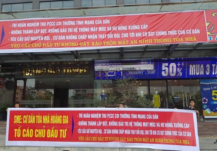 Chung cư vi phạm PCCC: Hà Nội không thể xử BĐS Hoàng Gia, Sông Đà Thăng Long…?