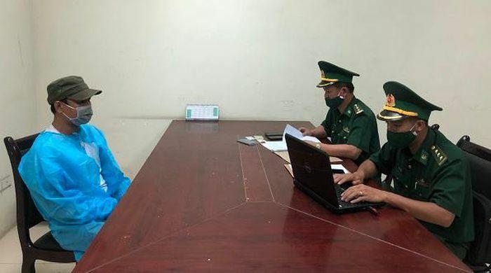 Quảng Bình: Bắt đối tượng trốn lệnh truy nã tại Cửa khẩu ChaLo
