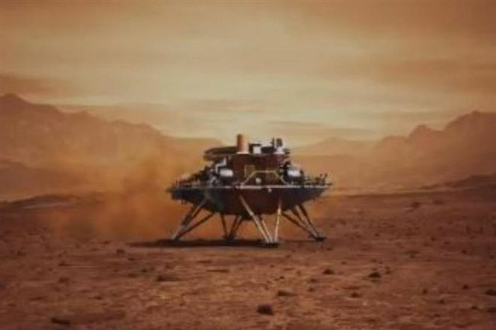 Tàu thăm dò Trung Quốc hạ cánh xuống sao Hỏa