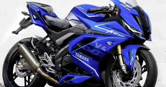 Yamaha YZF-R15 xuất hiện ảnh dựng cực ngầu