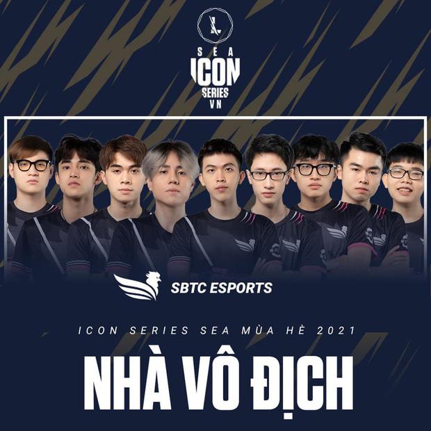 SBTC Esports chính thức trở thành tân vương của LMHT: Tốc Chiến Việt Nam