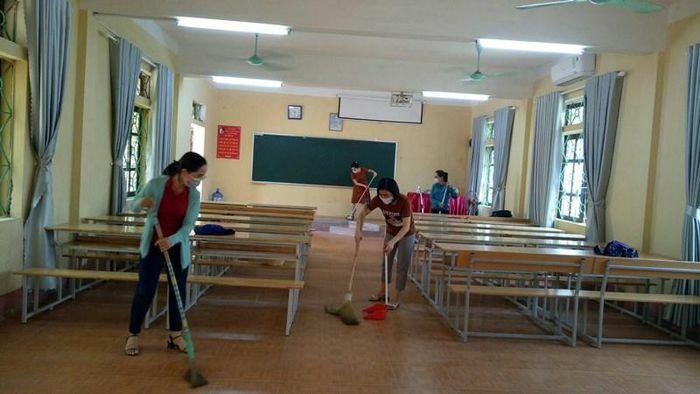 Vĩnh Phúc: Sẵn sàng đón học sinh lớp 12 đến trường ôn thi tốt nghiệp
