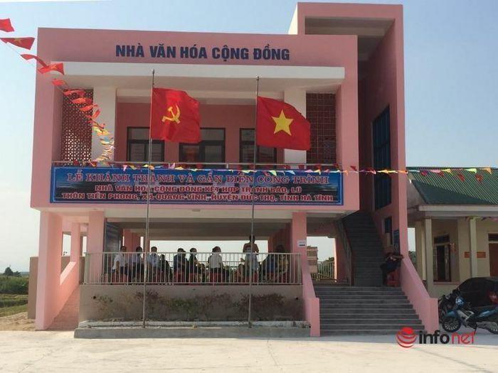 Hà Tĩnh: Nhà Văn hóa cộng đồng kết hợp tránh lũ – giải pháp phòng chống thiên tai rất hiệu quả