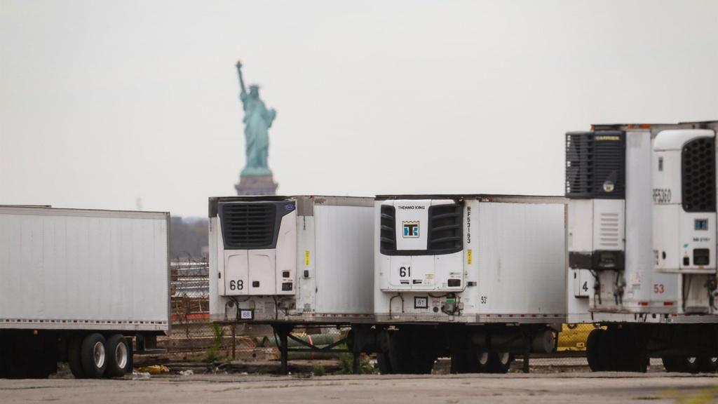 New York giữ 750 thi thể bệnh nhân Covid-19 trong xe đông lạnh nhiều tháng
