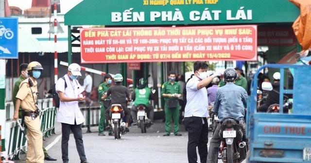 TPHCM: Lập 69 chốt kiểm soát các cửa ngõ từ ngày 15/5