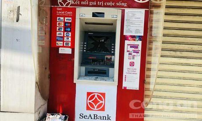 """Bắt Hải """"khùng"""", kẻ đập phá hàng loạt máy ATM"""