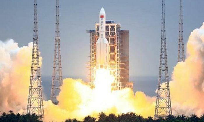 Tên lửa Trung Quốc mất kiểm soát, sẽ rơi thẳng xuống Trái đất - ảnh 1