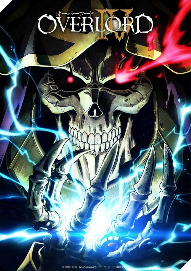 Chúa tể Ainz Ooal Gown và anime Overlord season 4 chính thức được sản xuất, hứa hẹn trở thành siêu phẩm đầu năm 2022