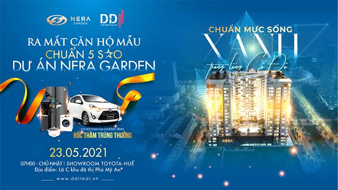 DDI ra mắt căn hộ chuẩn 5 sao Nera Garden