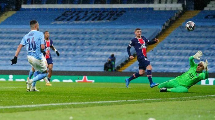 Không Mbappe, PSG ngậm ngùi nhìn Man City vào chung kết Champion League
