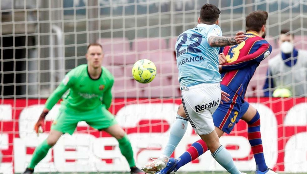 Chấm điểm Barcelona 1-2 Celta Vigo: Ba tội đồ