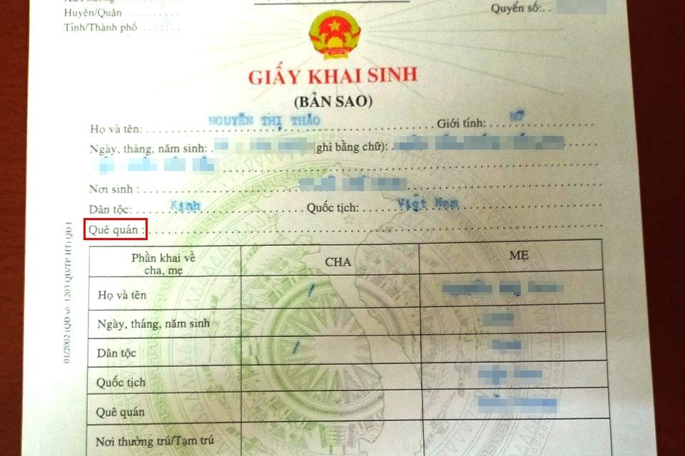 Lận đận 'nhân thân' – Kỳ 1: Khổ sở vì giấy khai sinh