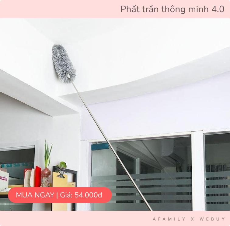 Combo 3 món đồ dọn dẹp nhà cửa chỉ 132k: Tắc cống, toilet bẩn hay quạt trần bám bụi đều sạch trong tích tắc