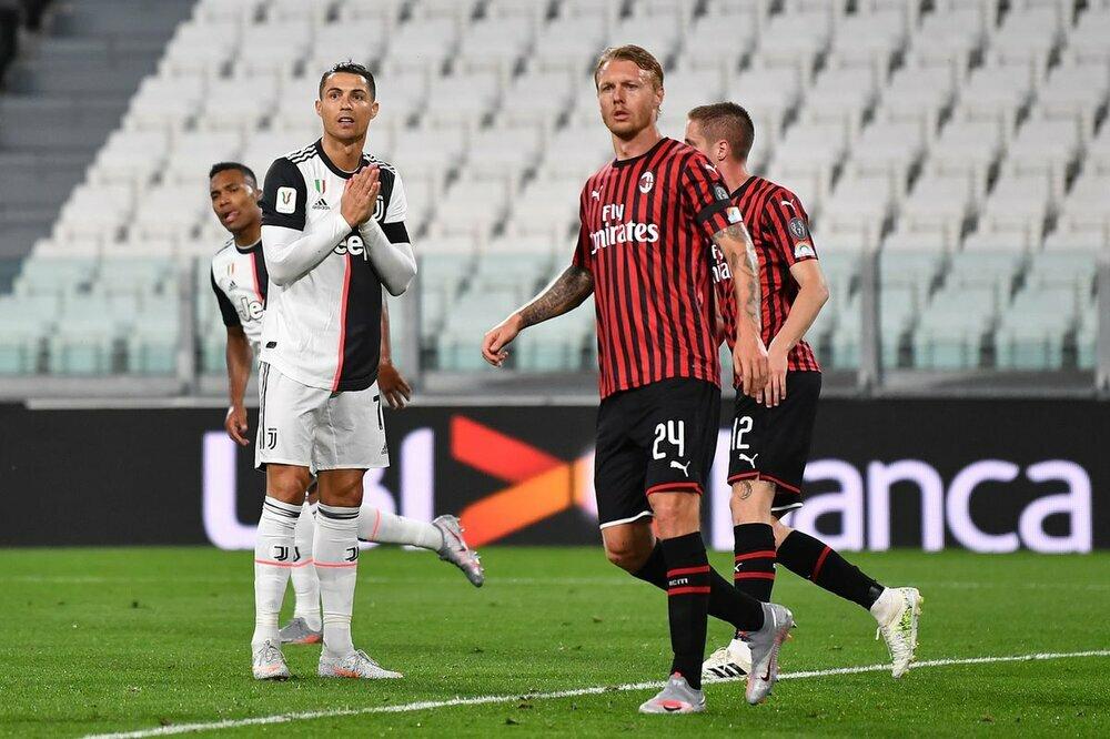 Ronaldo bất lực, Juventus bị AC Milan đánh bật khỏi Top 4