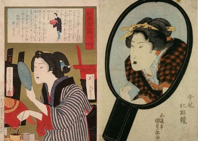 Răng đen – vẻ đẹp chuẩn mực của phụ nữ Nhật Bản xưa