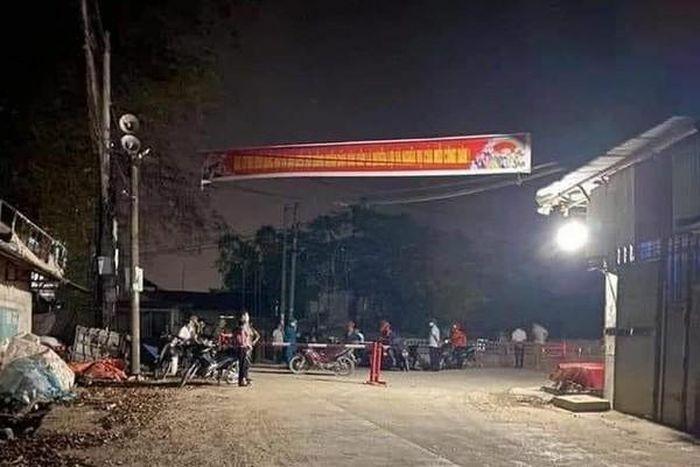 Phong tỏa hơn 200 hộ dân với gần 800 nhân khẩu ở Vĩnh Phúc