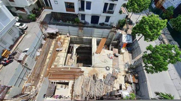 Vụ công trình 4 tầng hầm ở quận Ba Đình: Yêu cầu báo cáo Thủ tướng trước 1/6