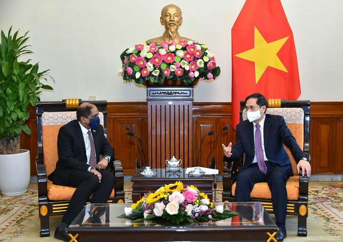 Việt Nam-Singapore tích cực hợp tác và hỗ trợ lẫn nhau tiếp cận nguồn vaccine ngừa Covid-19