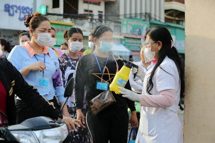Campuchia báo cáo 650 ca COVID-19 mới trong ngày dỡ lệnh phong tỏa thủ đô