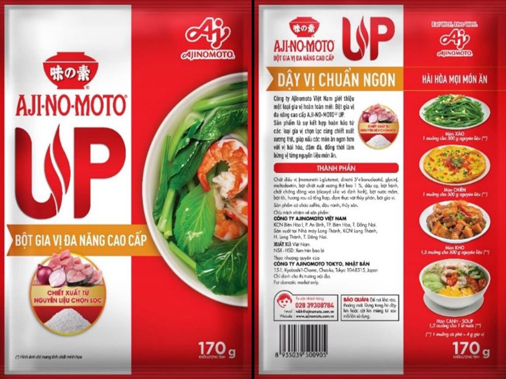 Tận hưởng niềm vui nấu ăn với Bột gia vị đa năng AJI-NO-MOTO® UP
