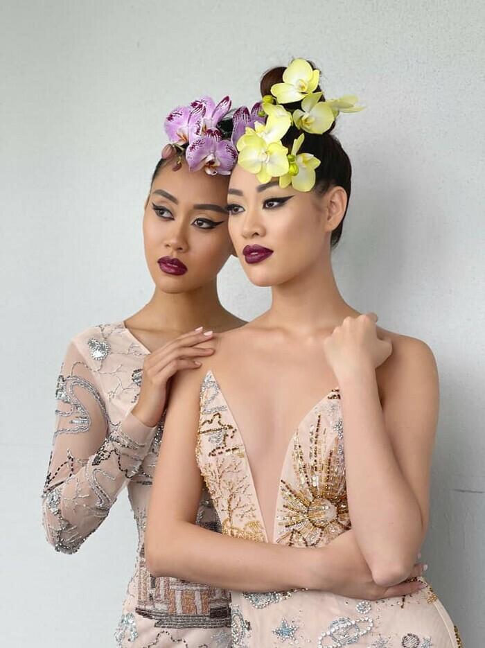 Khánh Vân đọ sắc với Miss Malaysia trong bộ ảnh mới, khoe trọn vẻ đẹp Á châu cực cuốn hút