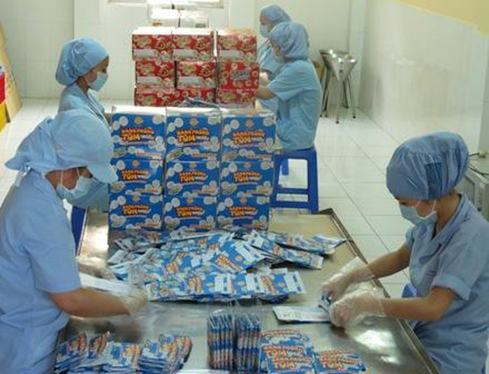 Lợi nhuận của công ty bánh phồng tôm Sa Giang giảm mạnh