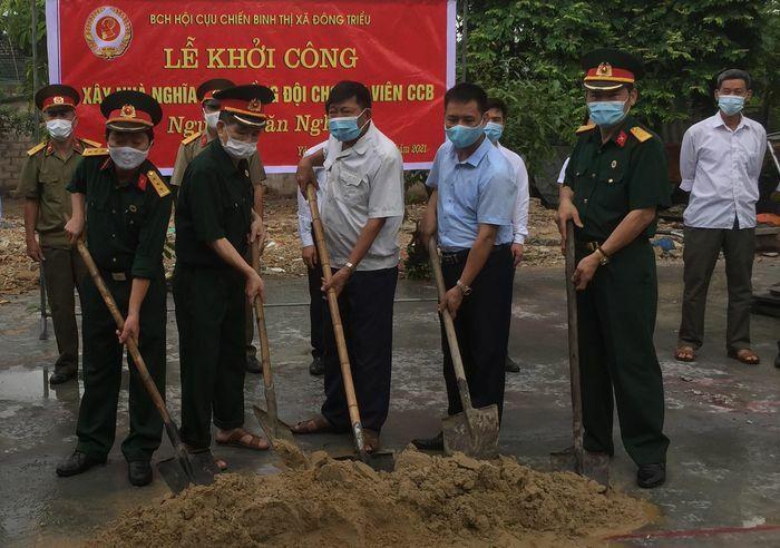Quảng Ninh: Khởi công xây nhà nghĩa tình đồng đội cho hội viên Cựu chiến binh