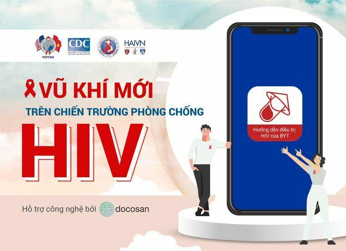 Ứng dụng mới giúp quản lý xuyên suốt quá trình điều trị HIV/AIDS tại Việt Nam