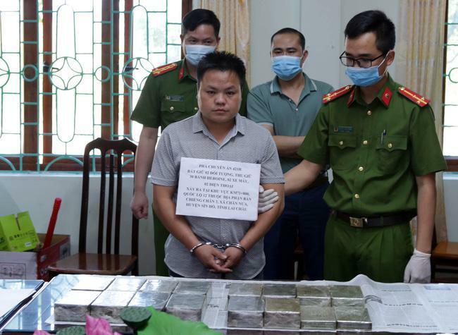 Công an Lai Châu phá chuyên án thu 30 bánh Heroin