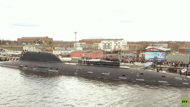 """Nga biên chế siêu tàu ngầm hạt nhân """"quái vật"""" đại dương"""