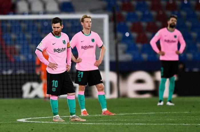 Koeman ngầm thừa nhận Barca hết cửa vô địch La Liga
