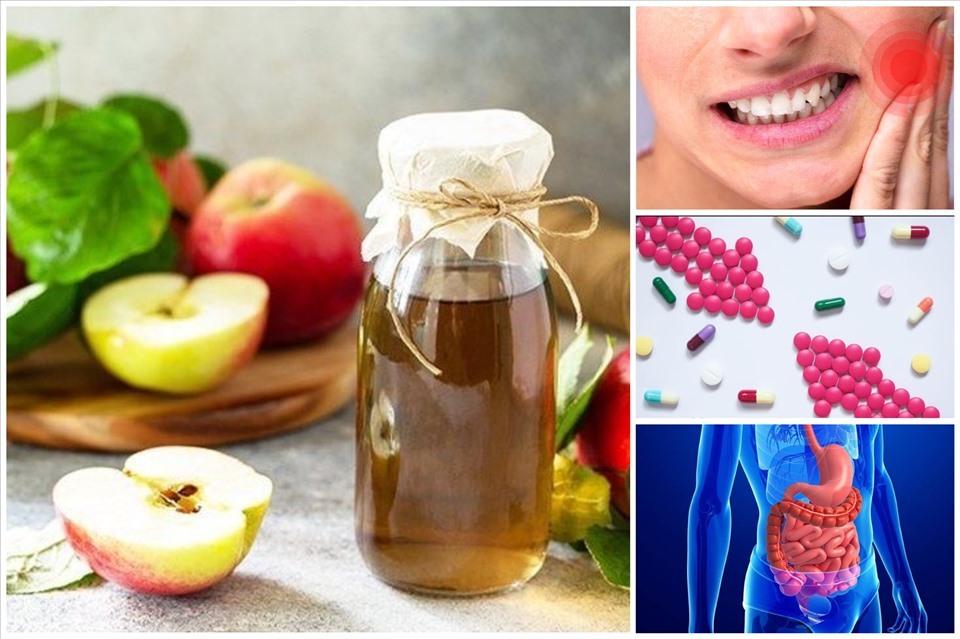 Các tác dụng phụ tiềm ẩn của giấm táo