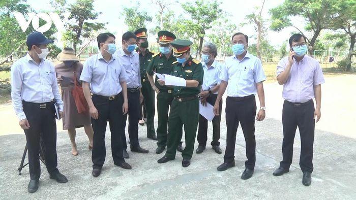Quảng Nam siết chặt quản lý cách ly phòng, chống dịch COVID-19