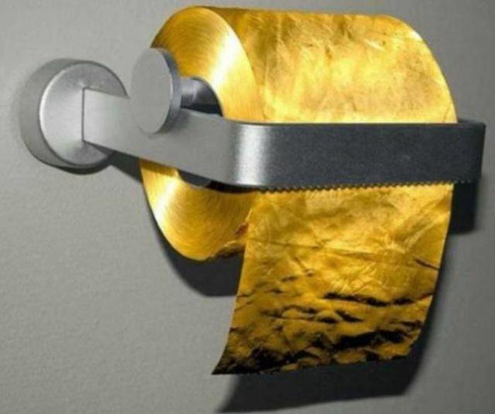 Giấy vệ sinh đắt nhất thế giới, giá một cuộn gần 30 tỷ đồng, phải giàu cỡ nào để xài?