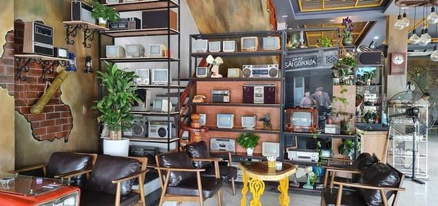 """""""Xiêu lòng"""" với vị cà phê tại """"Sài Gòn xưa"""" của ông chủ 8X xứ Kinh Bắc"""