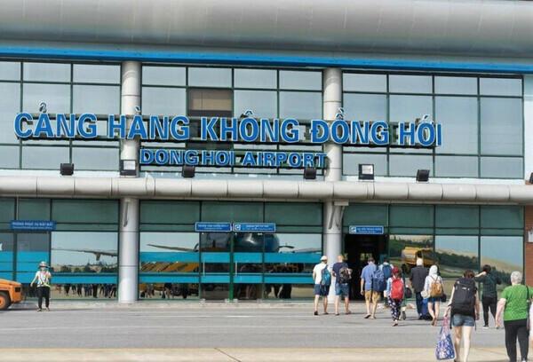 """""""Rót"""" hơn 1.200 tỷ đồng xây nhà ga mới tại sân bay Đồng Hới"""