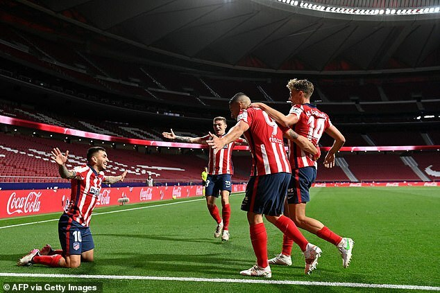 Atletico có thể vô địch La Liga ngay cuối tuần này