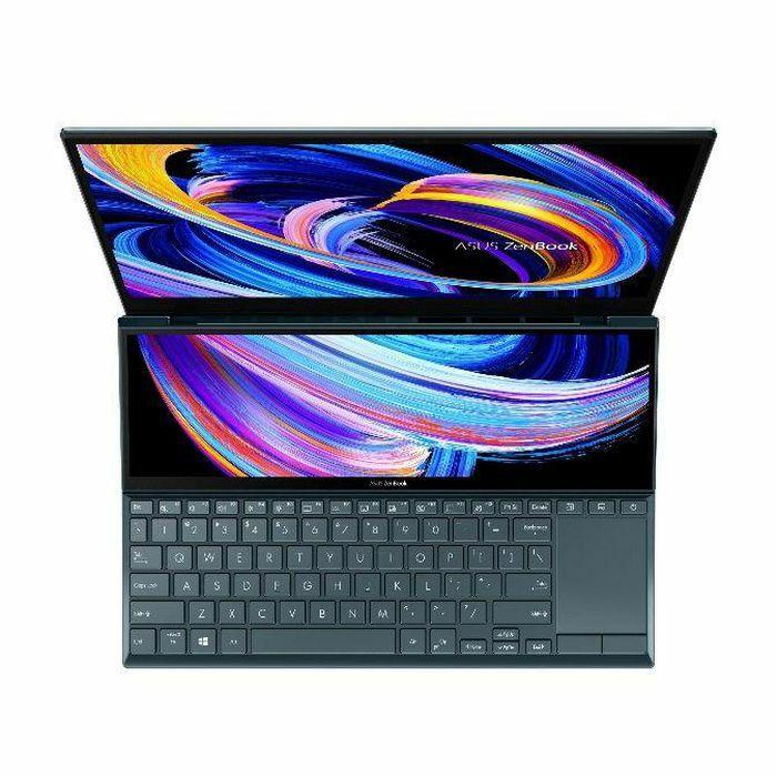Asus ra mắt ZenBook Duo 14 UX482: Thiết kế hai màn hình mỏng nhẹ nhất thế giới
