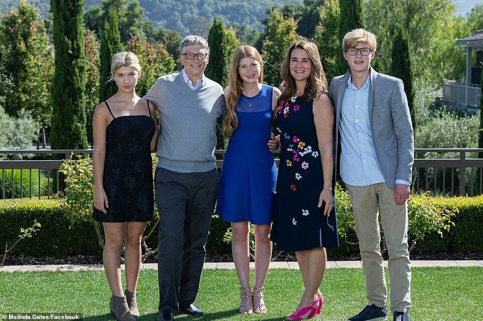 Tiết lộ về 3 người con của vợ chồng tỷ phú Bill Gates