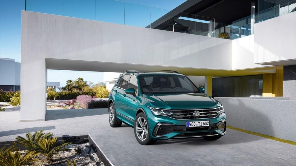 Volkswagen Tiguan Allspace 2022 sẽ ra mắt vào 12/5