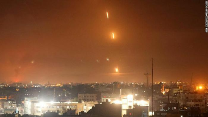 Hamas bắn hơn 200 tên lửa vào Israel để trả đũa