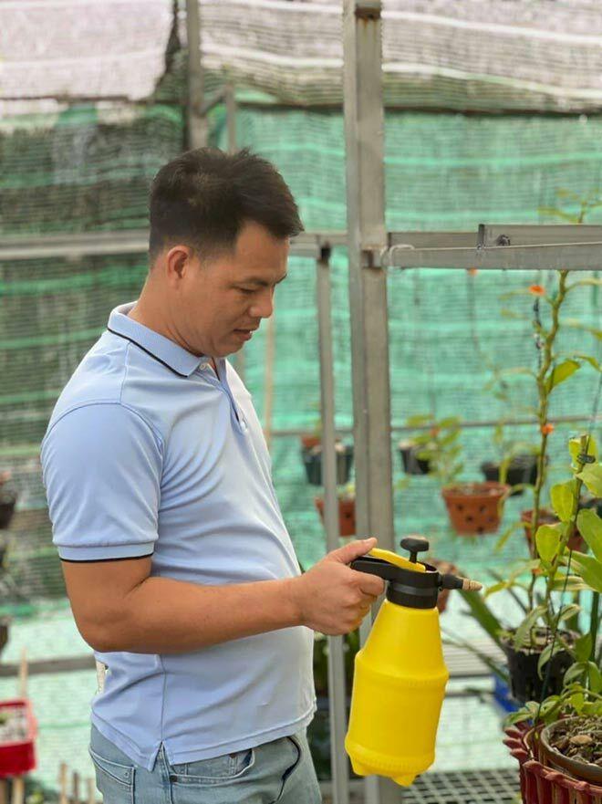 Vườn lan quý ở Bình Dương của ông chủ gốc Thanh Hoá