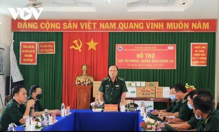 Bộ Tư lệnh Biên phòng kiểm tra công tác phòng, chống dịch Covid-19 tại An Giang