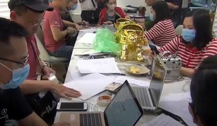 Triệt phá 4 sàn giao dịch vàng, tiền ảo, ngoại tệ trái phép