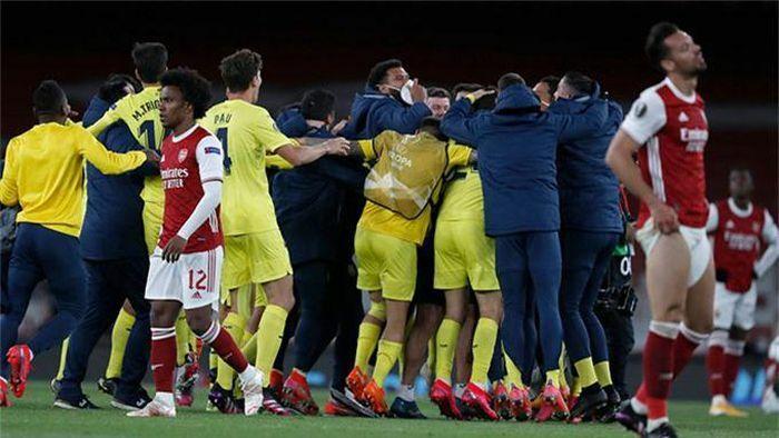 """Điểm nhấn Arsenal 0-0 Villarreal: Pháo thủ lập kỷ lục buồn, Emery là """"vua chung kết"""""""